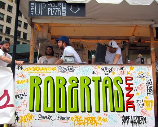 Head over to Mad. Sq. Eats near Madison Square Park before October 3rd to sample Roberta's, Melt Shop and more!