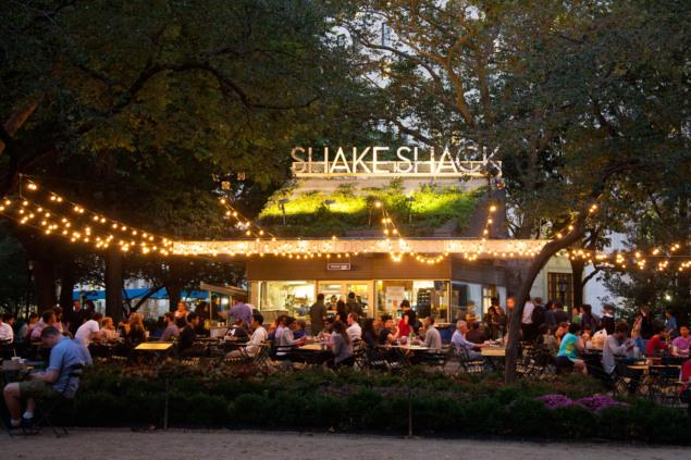 Explore Madison Square Park's history and evolution from swamplands to home of the iconic Shake Shack franchise