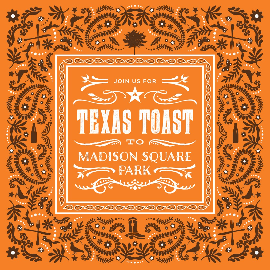 Hill Country sponsored event A Texas Toast returns to Madison Square Park this October!