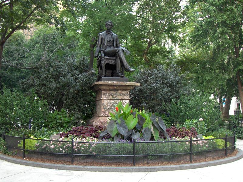 Explore Madison Square Park's art and culture from the William Seward Statue to Shake Shack!