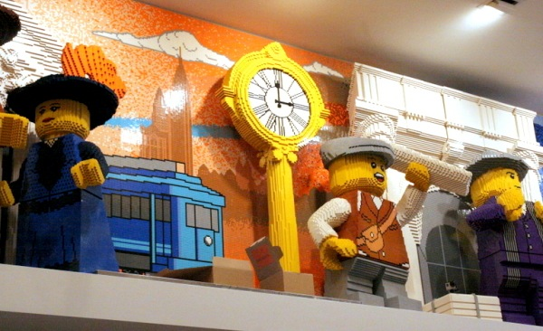 Swing by the Lego store in NoMad from October 10th through October 13th for their Grand Opening celebrations!