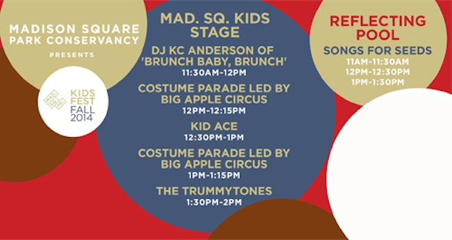 Mad. Sq. Kids returns to throw the Fall Fest 2014.