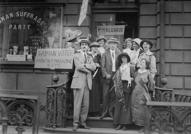 ExperienceNoMad discusses the suffragettes and their connection to the Martha Washington Hotel.