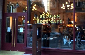 Head over to Belgian Beer Cafe NoMad for a wide variety of Belgian beers, growlers and entrees.