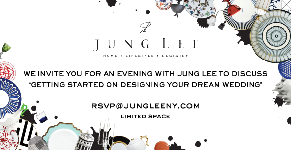Home designer Jung Lee will host a special Bride-To-Be event this Thursday.