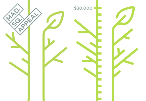 Help support Madison Square Park by giving a tax deductible gift to the Mad. Sq. Park Conservancy.