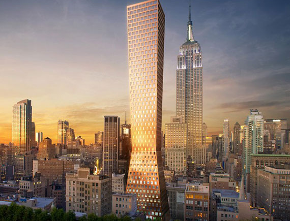 See new renderings of the HFZ Capital's project in NoMad.