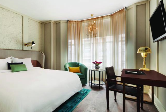 Popular NoMad-based hotel The Gershwin has been renamed The Evelyn.