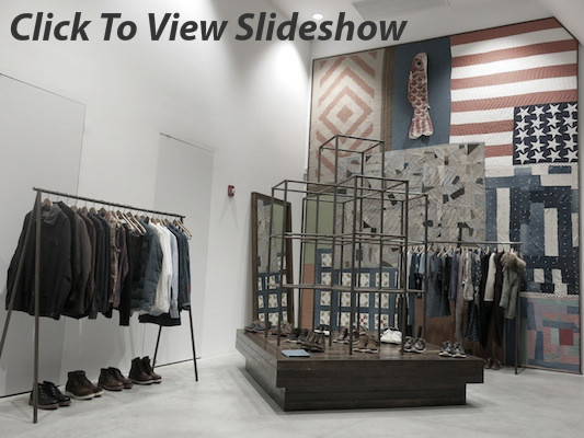 Click to view the new collections in Dover Street Market's Spring Summer 2015 'New Beginnings' show.