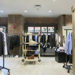 DSMNY's 2nd floor men's showroom features designers Feit, Greg Lauren, Lewis Leathers, Gitman Brothers, A.P.C, Ganryu.