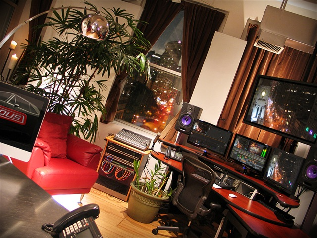 NITROUS offers state-of-the-art production studios in the heart of the NoMad District.