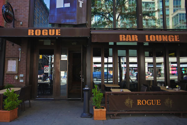 rogue bar and restaurant sports bar premium cocktails beer