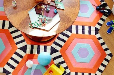 modular carpeting