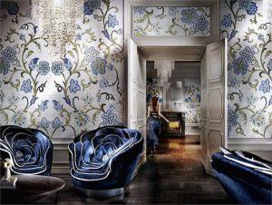 Italian jeweler Sicis does full wall mosaic design
