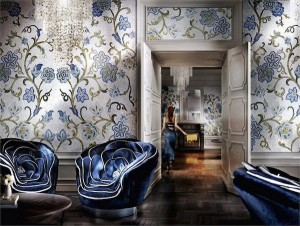 Italian jeweler Sicis does full wall mosaic design