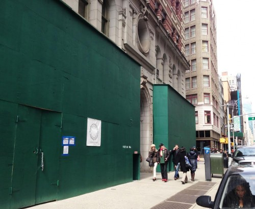 Construction at 1133 Broadway St James marks arrival of Inday, Rizzoli Bookstore and La Pecora Bianca
