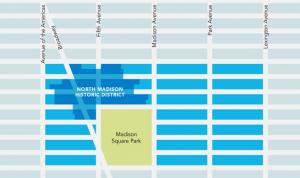 NoMad neighborhood map