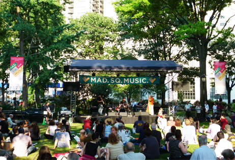 Free NYC Concerts: Oval Lawn Series, Above Ground Series and Kids Concert Series