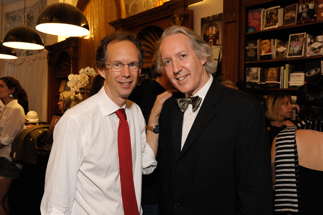 Charles Miers, Rizzoli Publisher and William Bevington, Associate Professor of Information Mapping, Art, Media and Technology, The New School – Parsons.