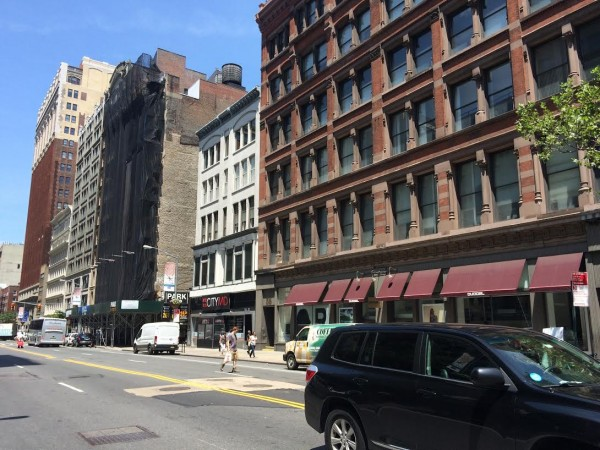 The site of the FAO Schwarz building in NoMad