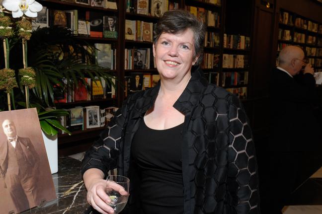 Laura Dmiros, Architect, Ike Kligerman Barkley, Designers of Rizzoli Bookstore.
