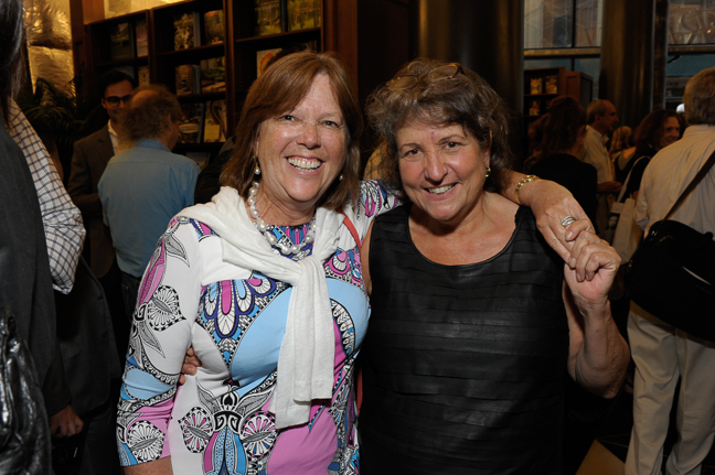 Leslie Spira Lopez, CEO and President,  Kew Management and Cynthia Conigliaro of Rizzoli.
