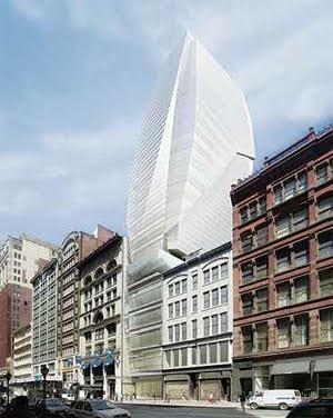 Proposed building to replace FAO Schwarz by Carlos Zapata