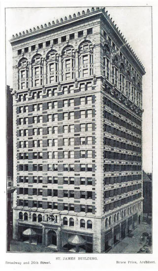 First original photo of the St. James Building
