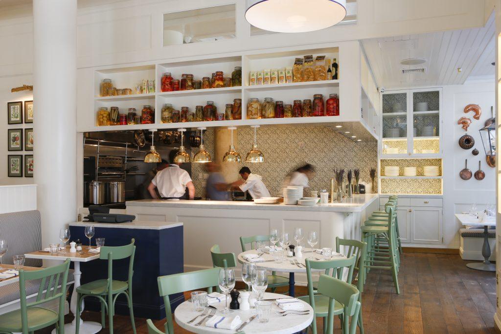 La-Pecora Bianca kitchen as featured in their Nomad Restaurant