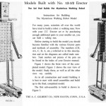 Erector Model Set