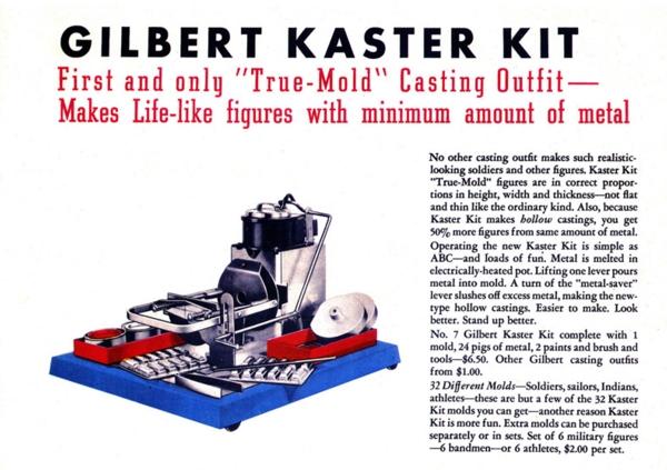 gilbert kaster kit from gilbert toys