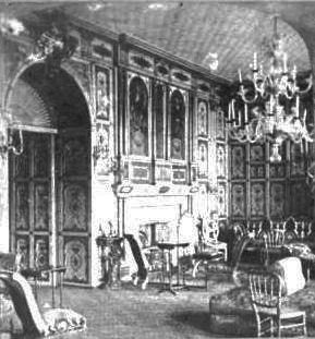 gilt room at the holland house