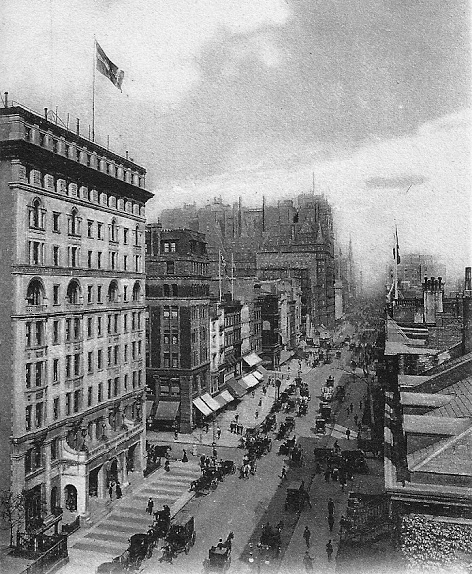 holland house exterior in 1905