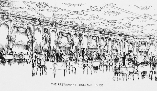 holland house restaurant in new york history