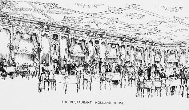 holland house restaurant in new york history