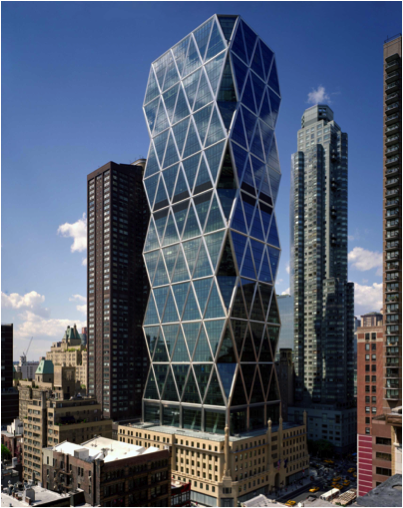 norman foster hearst building in nyc
