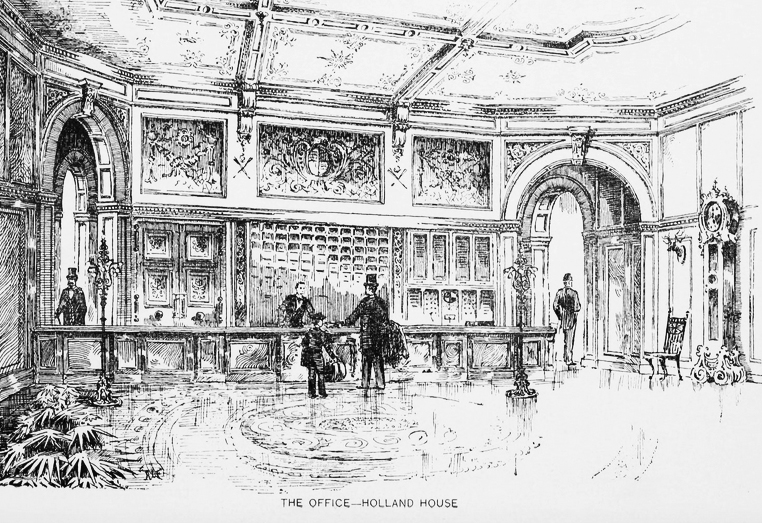 office at holland house