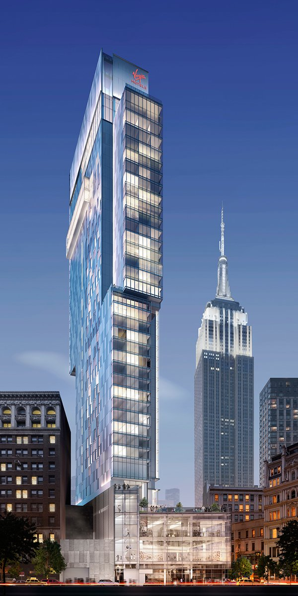 Virgin Hotel in nomad nyc breaks ground