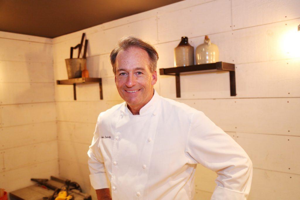 Chef John Doherty at Black Barn