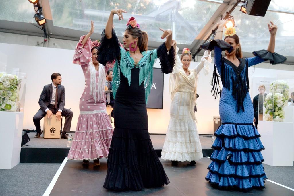 Flamenco dancers in Madison Square Park