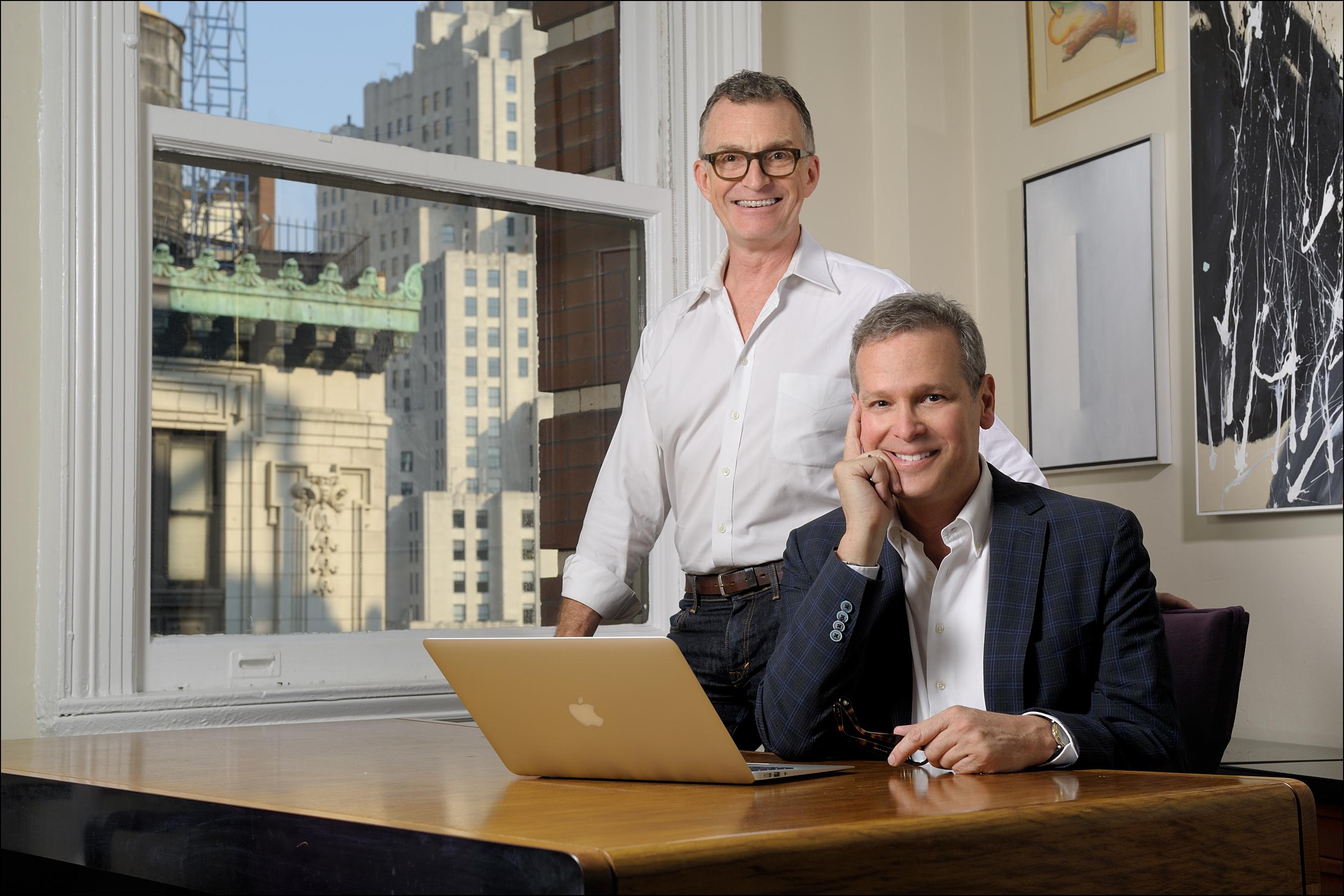 interior designers Barry Goralnick and Glenn Gissler