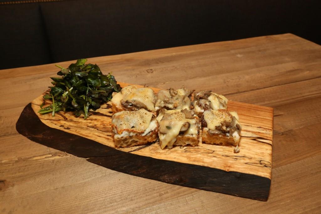 Irwin Farm Mushrooms on Toast