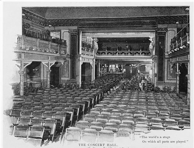 koster and bial music hall interior