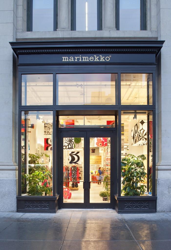 marimekko flagship in nomad nyc