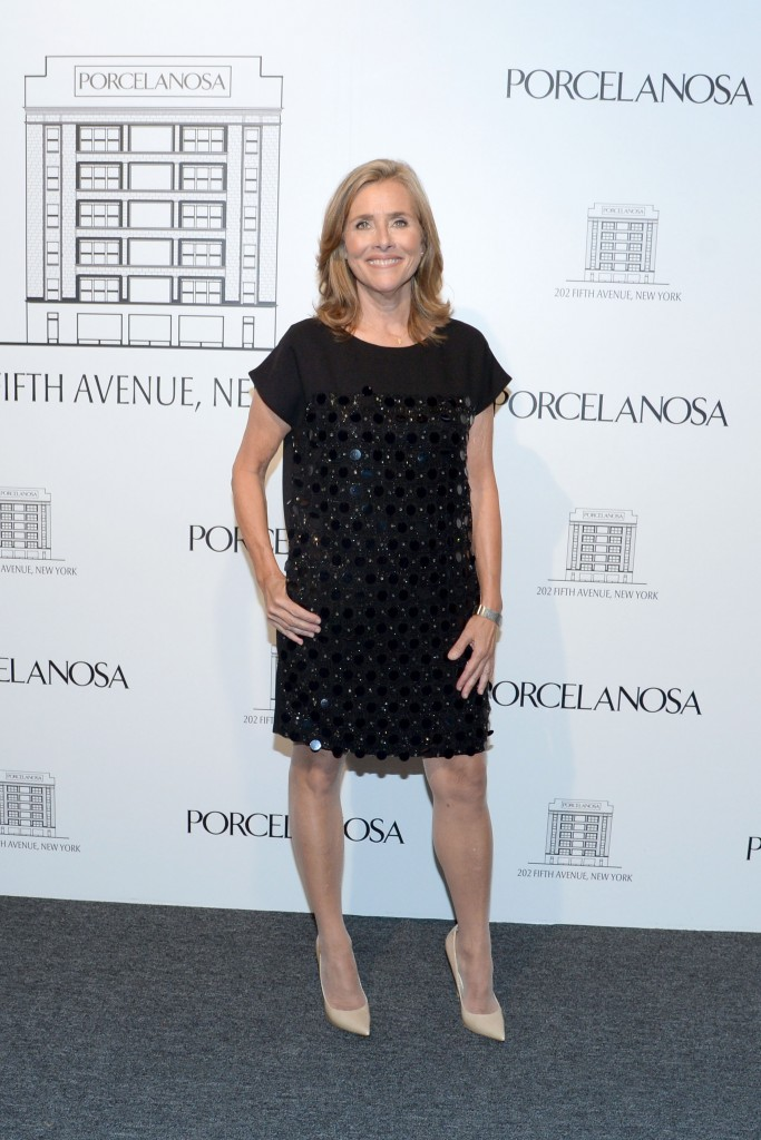 meredith vieira in madison square park