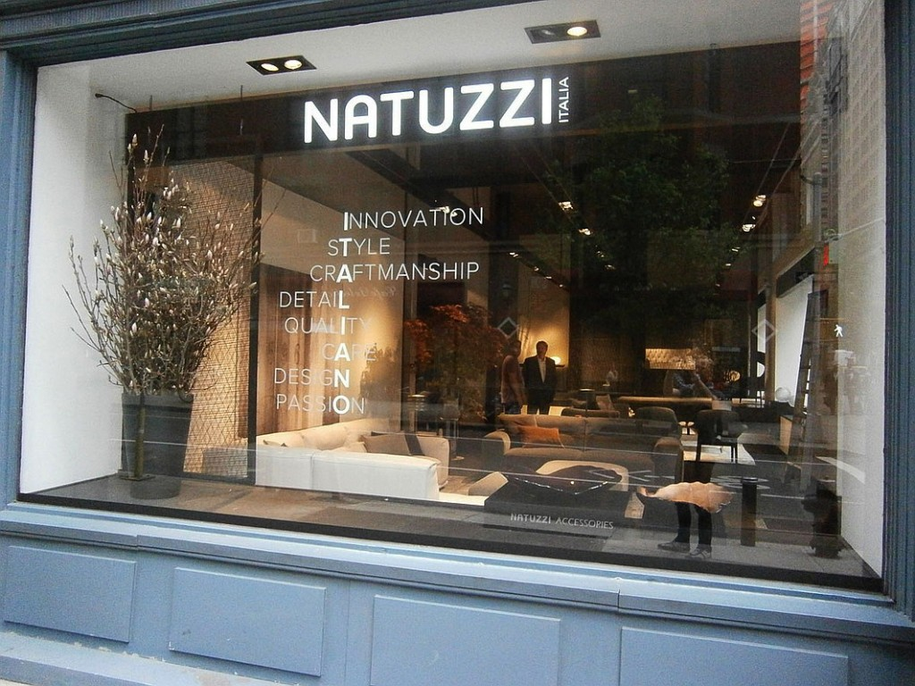 natuzzi store in nomad nyc
