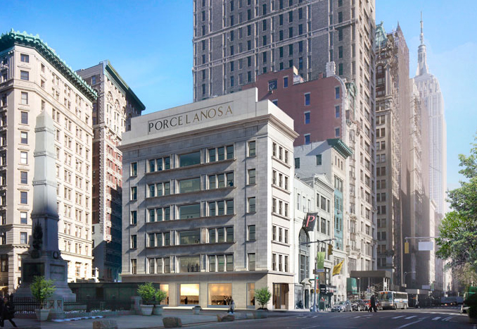 porcelanosa nyc flagship store in nomad