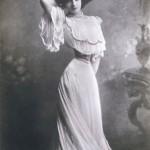 Polaire Posing in a Corset