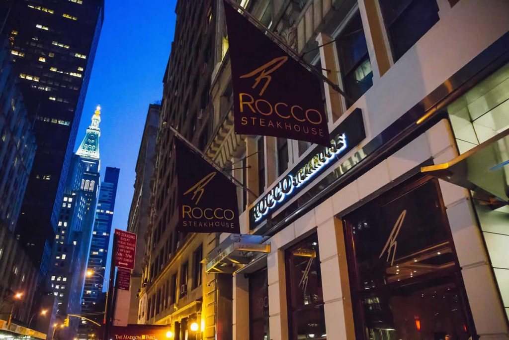 Rocco Steakhouse Valentines Day Date Ideas NYC