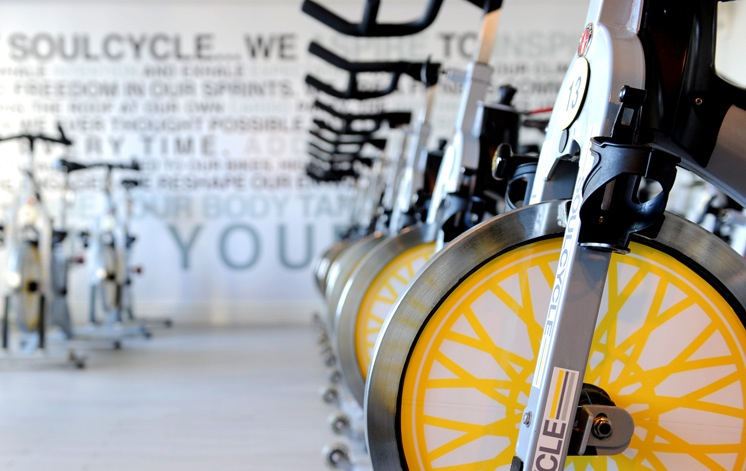 Soul Cycle provides cycling classes at its NoMad location
